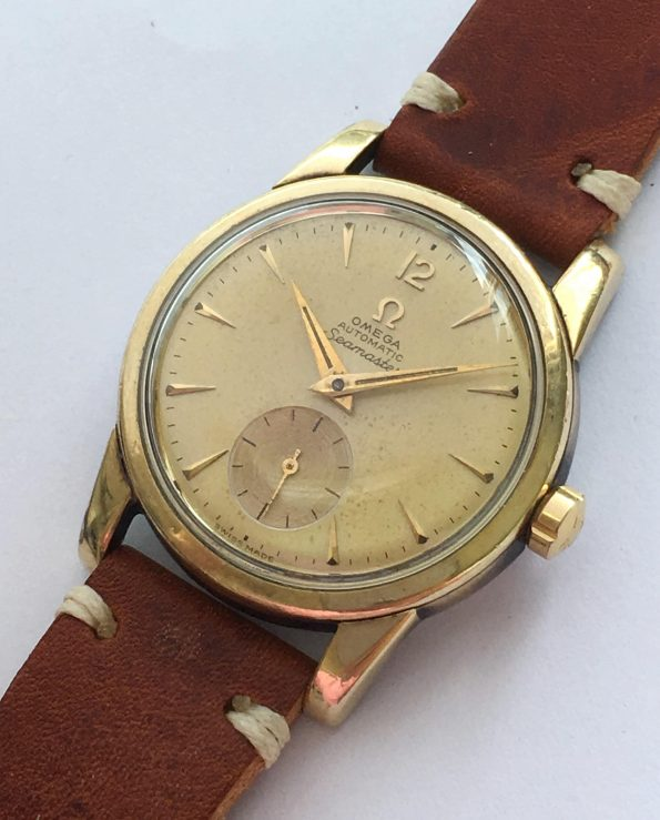 Great Omega Seamaster Automatic Automatik golden dial