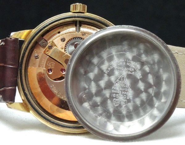 1967 Serviced Omega Seamaster Automatic cream dial