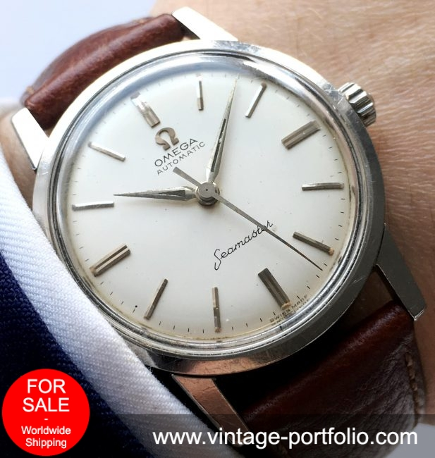 Wonderful Seamaster Automatik Vintage Steel 1958