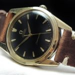 Serviced Omega Seamaster Automatic black dial