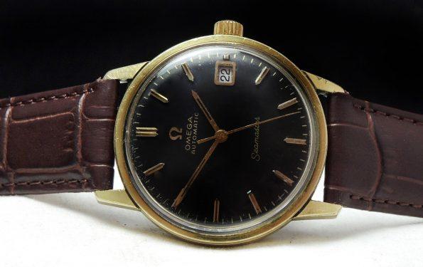 Amazing Omega Seamaster Automatic black dial Date 1967