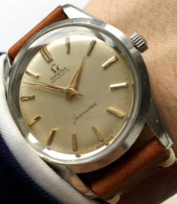 Wonderful Omega Seamaster Automatic Big Seahorse Logo