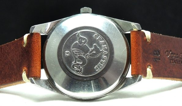 Wonderful Omega Seamaster Automatic with Big Seahorse Logo
