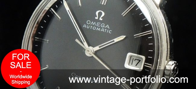 1967 Perfect Omega Seamaster Automatic Vintage black dial