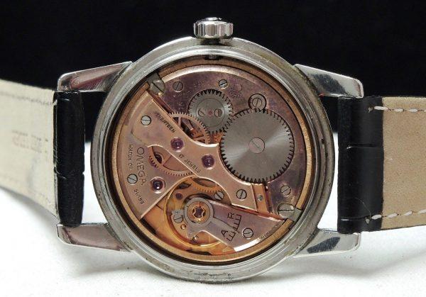 Rare Omega Seamaster Calatrava black dial Vintage