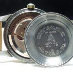 Serviced Omega Seamaster Calendar Automatic black dial
