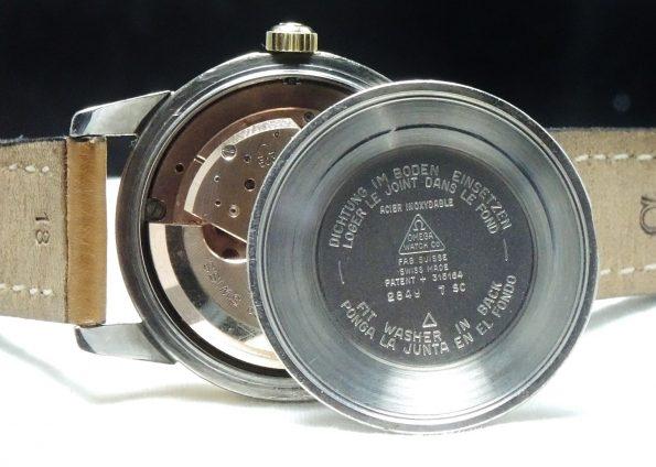 Serviced Omega Seamaster Calendar Automatic Automatik black dial