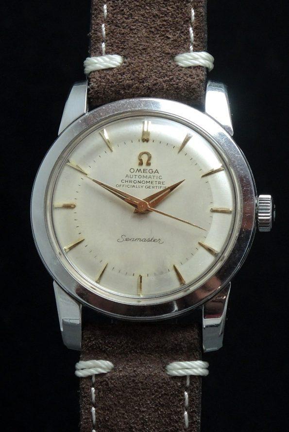Serviced Omega Seamaster Chronometer Vintage Bumper