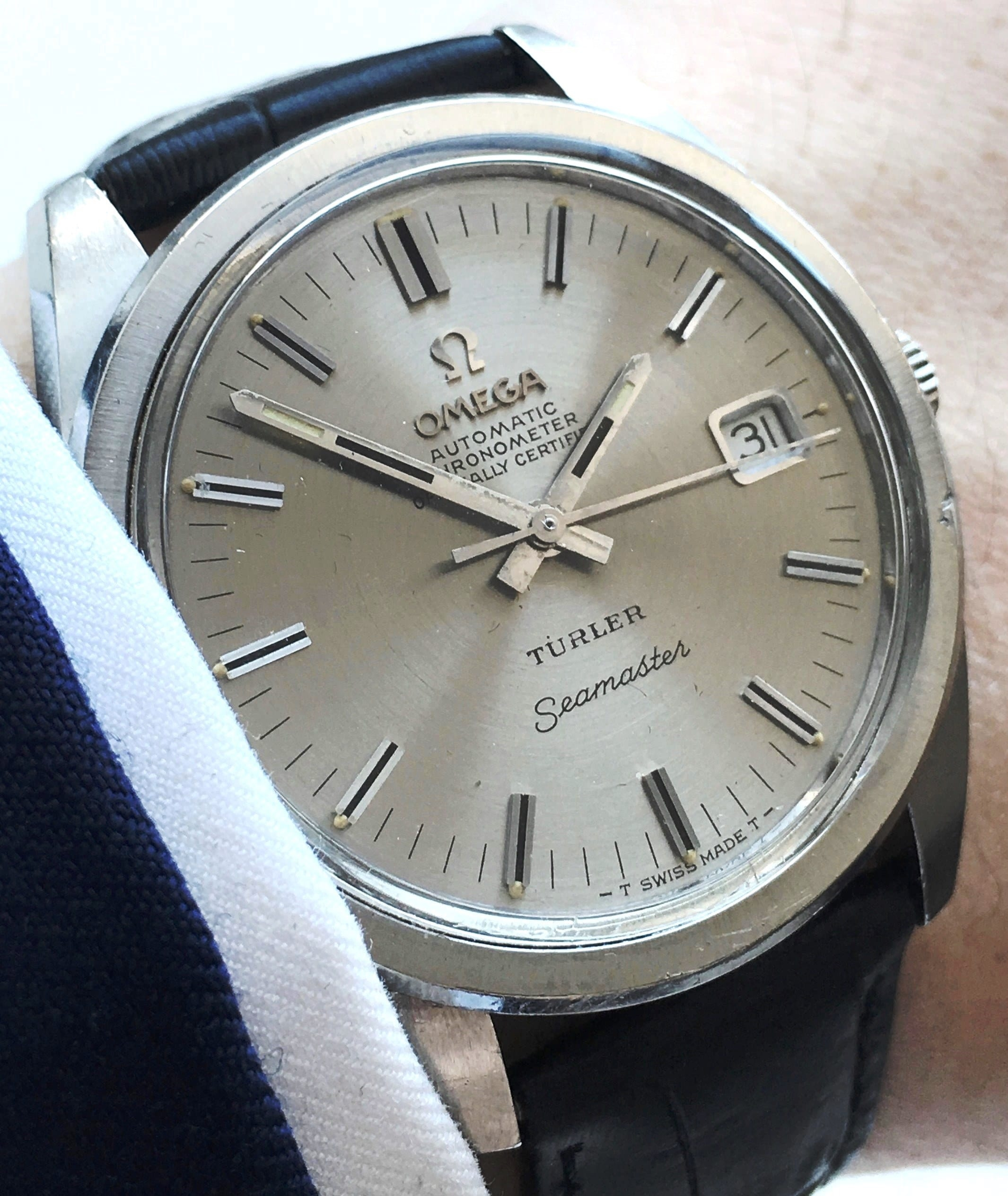 Wonderful Omega Seamaster Chronometer 36mm Vintage Portfolio