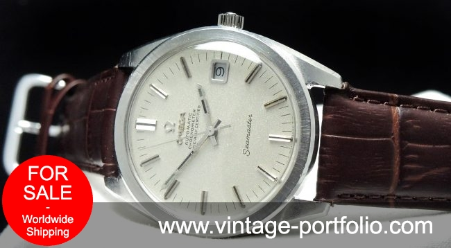 Wonderful Omega Seamaster Chronometer 36mm Automatic Vint