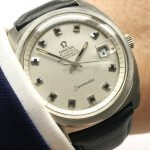 Perfect Omega Seamaster Chronometer Onyx Vintage Automatic