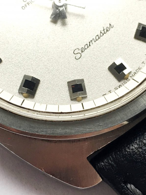 Perfect Omega Seamaster Chronometer Onyx Vintage