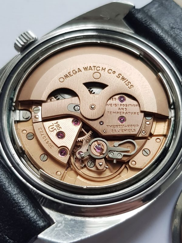 Perfect Omega Seamaster Chronometer Onyx Vintage Automatic