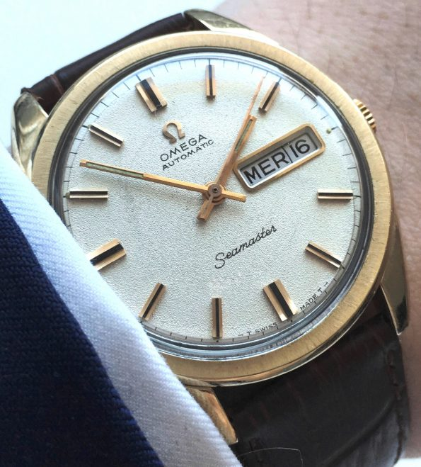 36mm Omega Seamaster Automatic Day Date