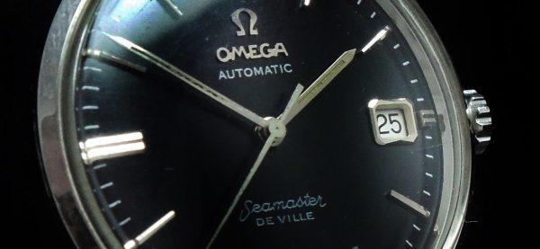 Serviced Omega Seamaster De Ville Automatic Vintage black