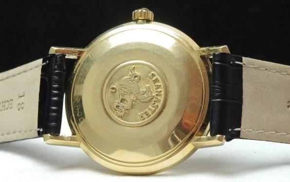 Solid Gold Omega Seamaster Automatic Türler signed