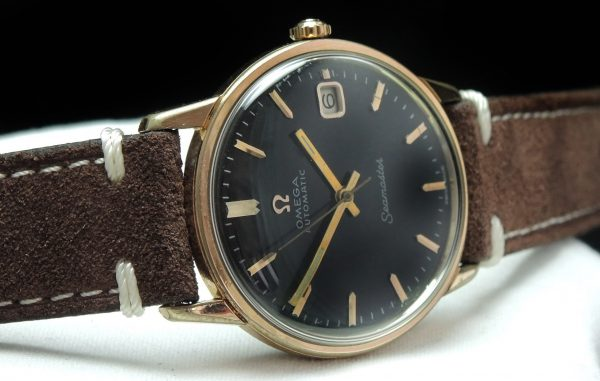 Pink gold plated Omega Seamaster Automatic