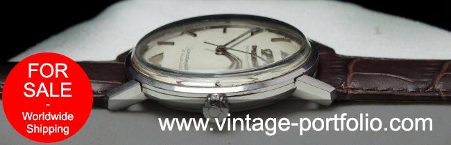 1967 Omega Seamaster Automatic Vintage Onyx Indices