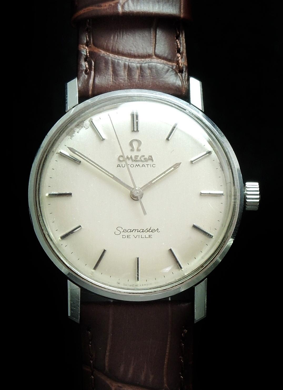 1967 omega seamaster de ville automatic vintage onyx
