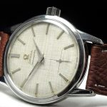 Wonderful Omega Seamaster watch with Linen dial 35mm
