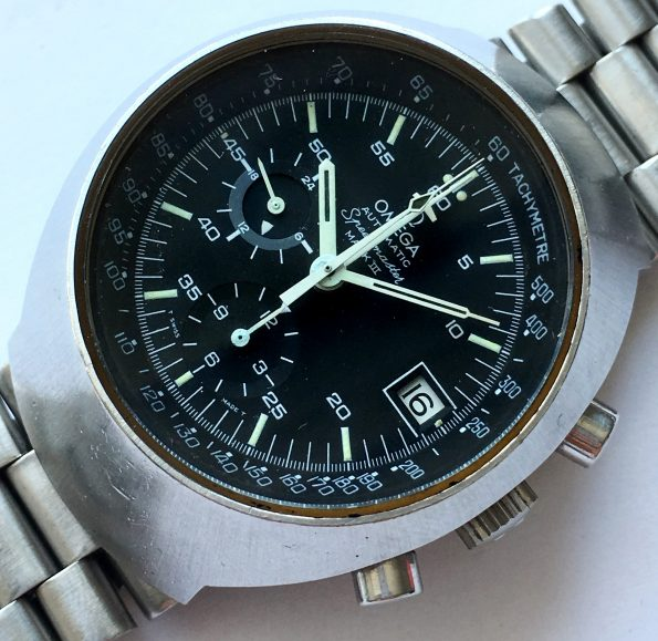 Serviced Omega Speedmaster Mark 3 III with Omega Steel strap