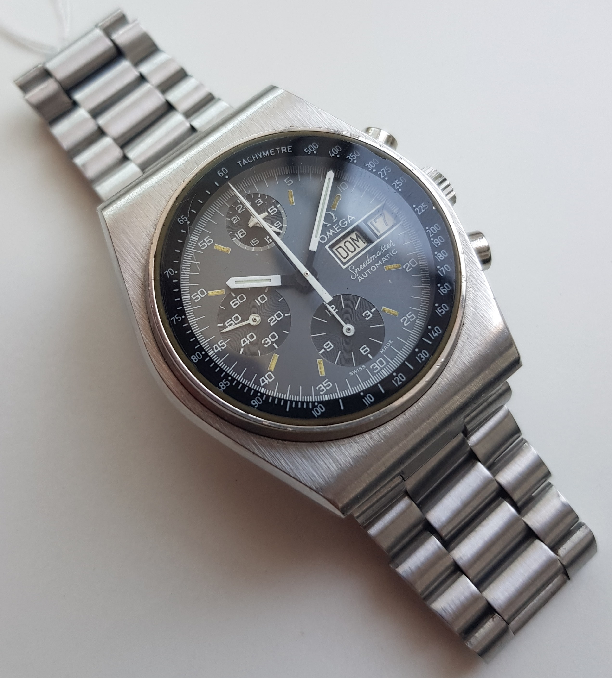 speedmaster date day Pre-owned omega watches omega speedmaster date chronometer automatic 【sa omega watch speedmaster day date (36233301).
