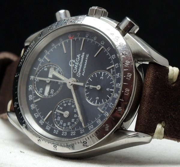 Omega Speedmaster Reduced Automatic Triple Date Day Date