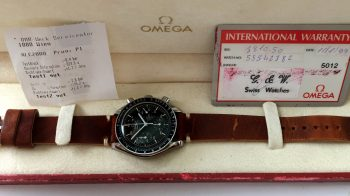 Serviced Omega Speedmaster Reduced Automatic Full Set