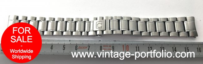 Original Omega Speedmaster Reduced Strap 18mm 1560 852