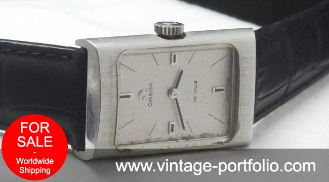 Beautiful Omega Steel De Ville Lady Ladies Watch Vintage