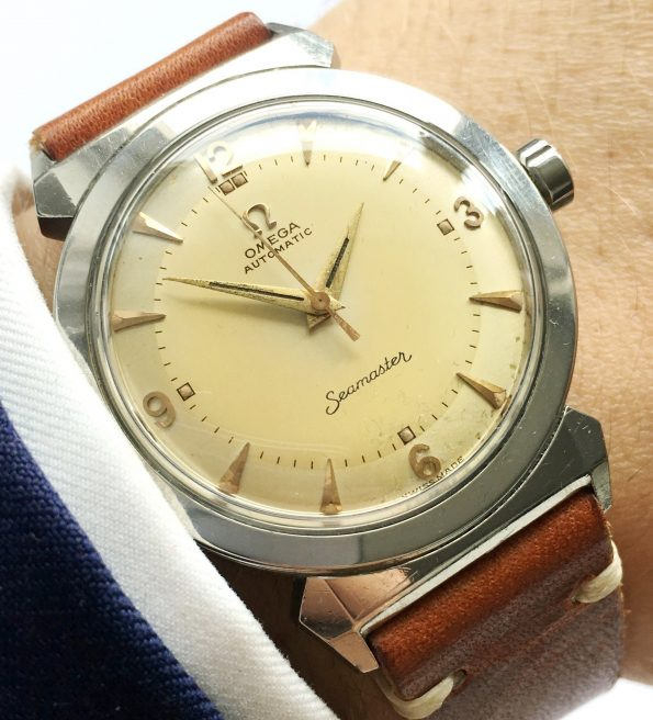 Perfect Omega Seamaster Automatic Scarab Vintage