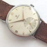 Serviced Omega 35mm Vintage Watch with Big small second