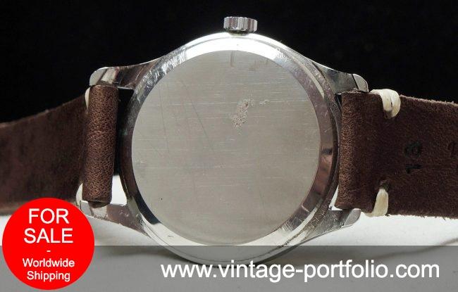 Serviced Omega black dial Vintage 36mm