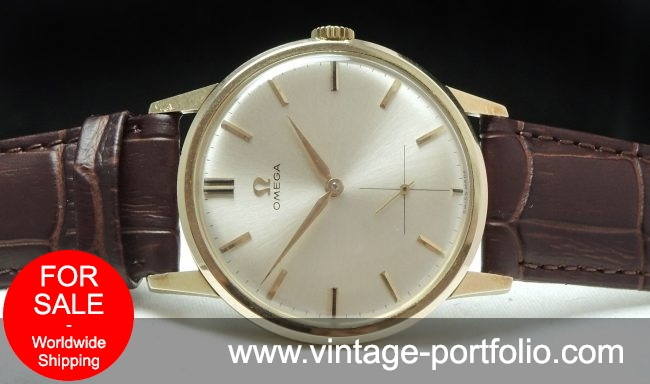 Perfect Omega Solid Gold Vintage Watch