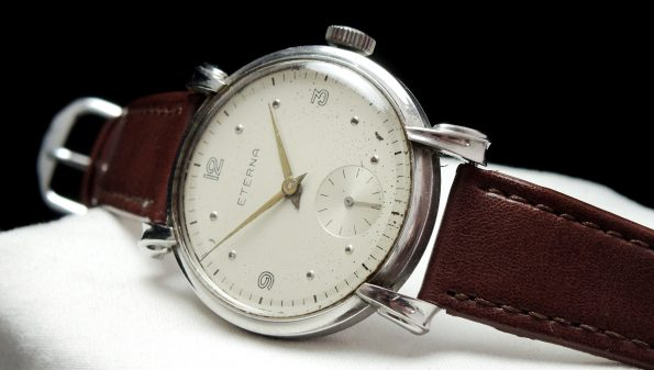 37mm Oversize Jumbo Eterna with Fancy Lugs