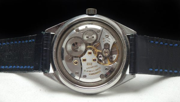 Amazing 37mm Oversize Jumbo Longines Steel Watch Date