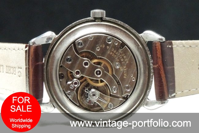 Patek Philippe Stainless Steel Vintage Tea