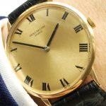 Vintage Patek Philippe in 18ct solid gold Ref 3468 roman dial