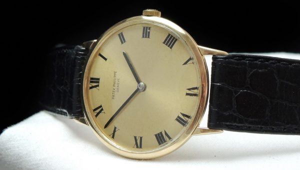Vintage Patek Philippe 18ct solid gold Ref 3468 roman dial