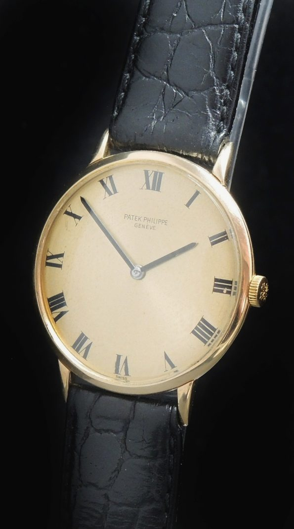 Vintage Patek Philippe in 18ct solid gold Ref 3468 roman dial