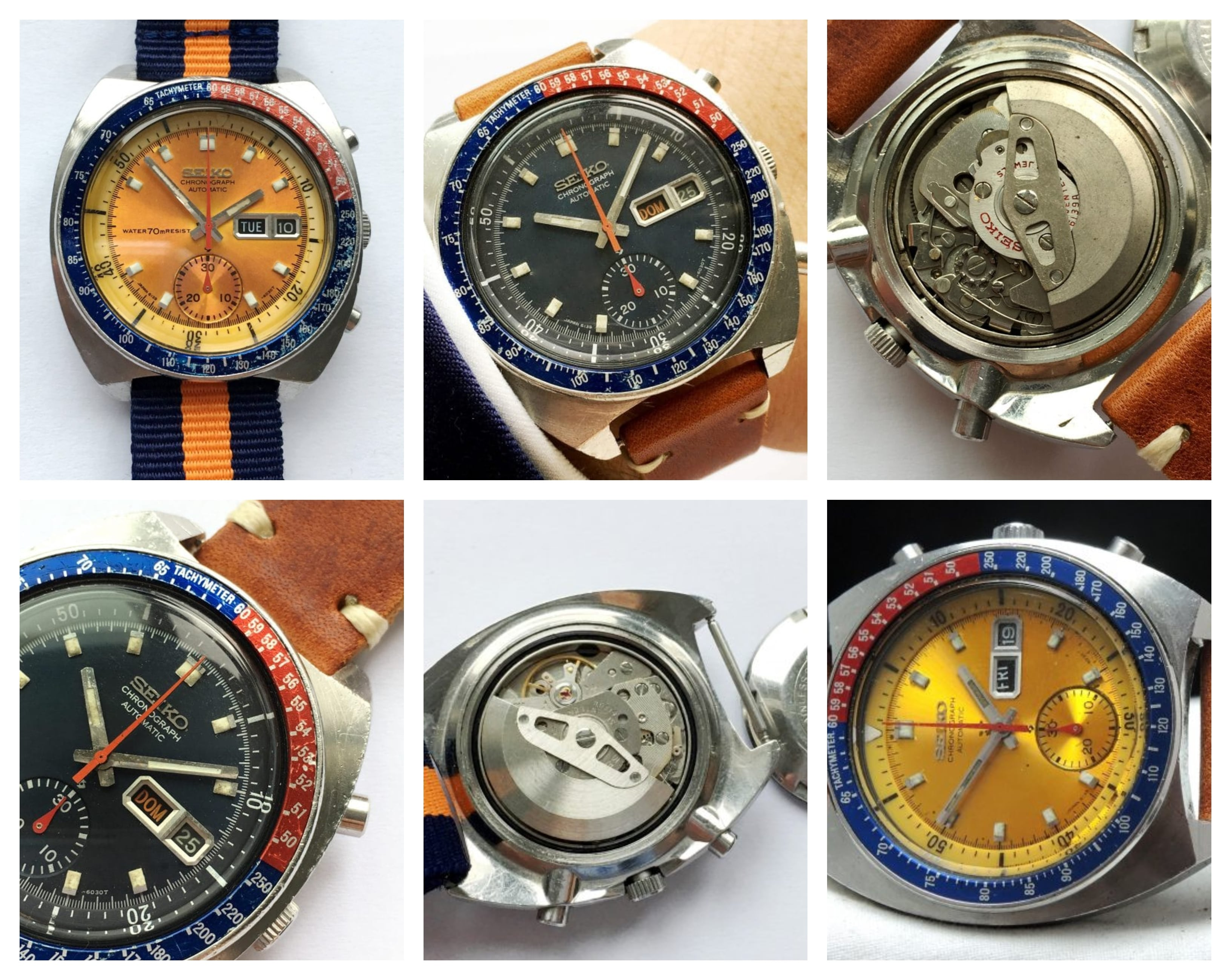 3 Vintage Chronographs Under €2.000!