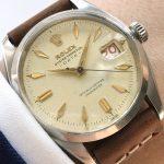 Rare Rolex Oyster Perpetual 1957 Ref 6534 Roulette Date h2 (1)
