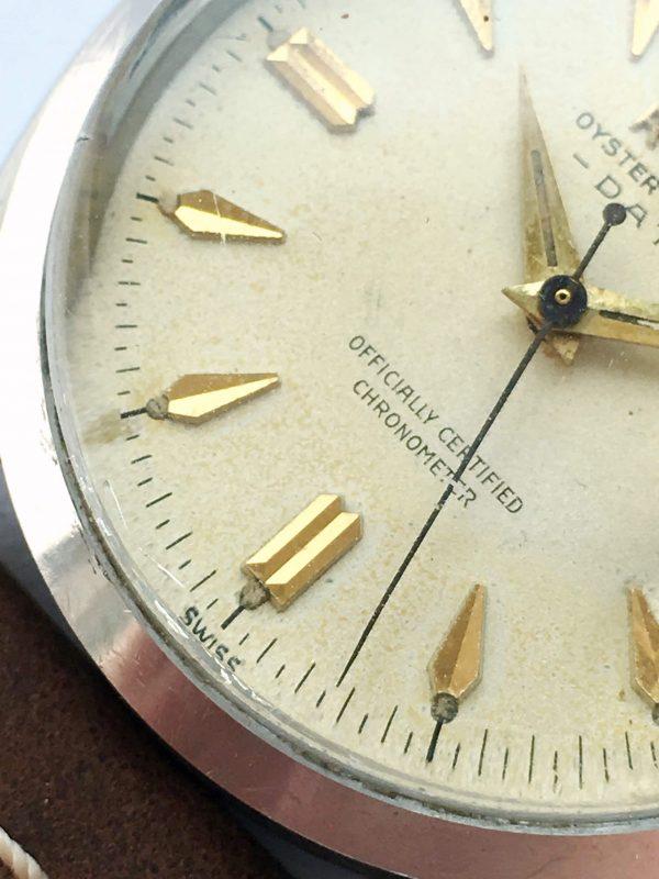 Rare Rolex Oyster Perpetual 1957 Ref 6534 Roulette Date
