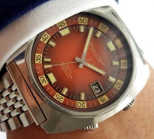 Rarest Variant IWC Aquatimer Vintage Red Dial 2