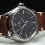Original Rolex Air King Automatic black chocolate dial Vintage