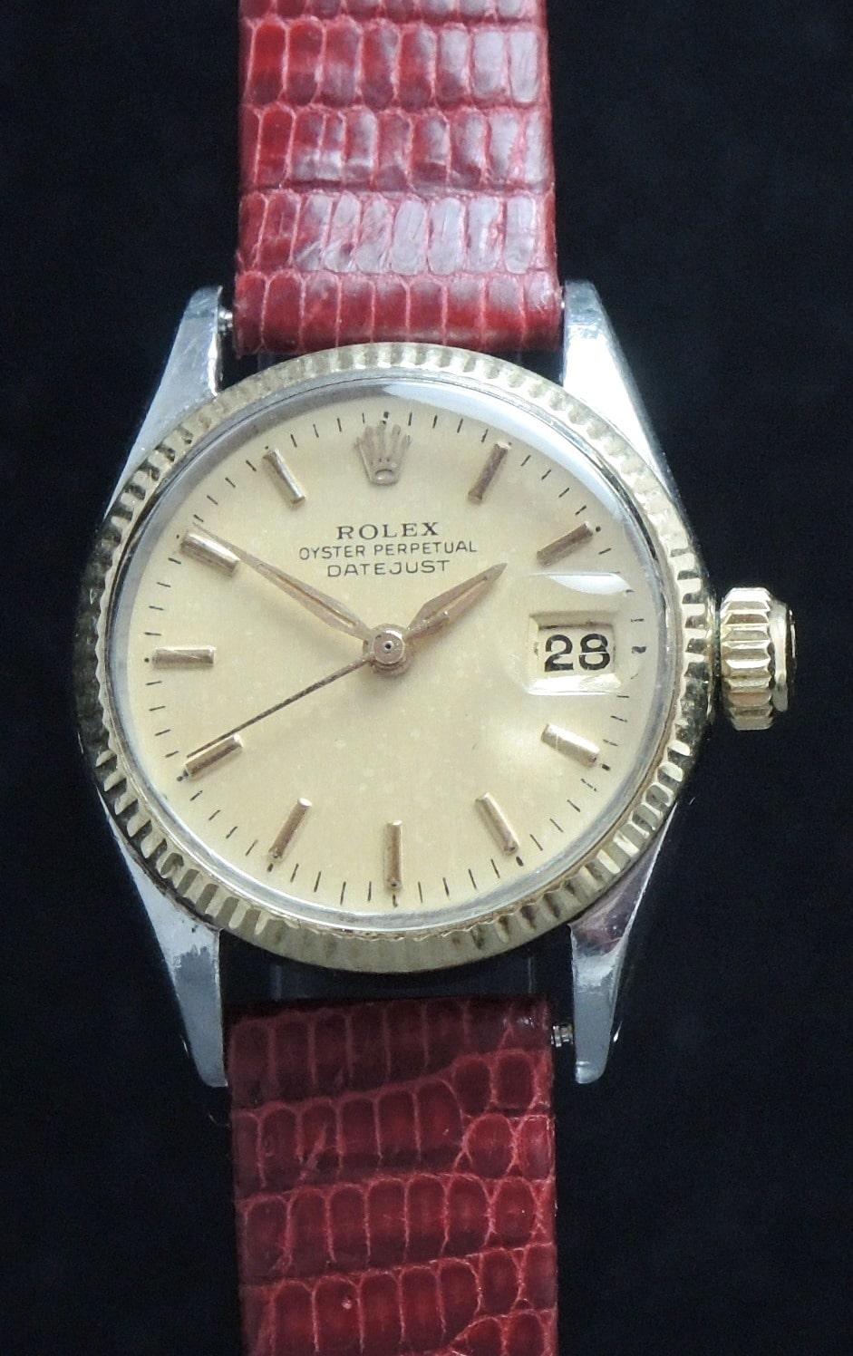 Rolex Damen Datejust Ladies Vintage Automatik Vintage