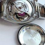 Rolex Date Datejust Steel Gold 35mm blue linen dial Automatic