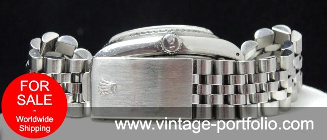 Genuine Rolex Datejust Automatic  Steel Saphir
