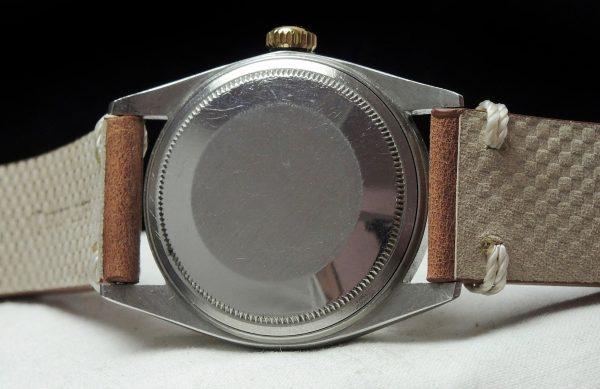 Genuine Rolex Datejust Automatic Steel Gold Vintage