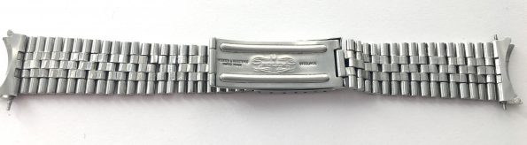 Original Rolex Datejust Jubilee Steel Strap 1964 20mm